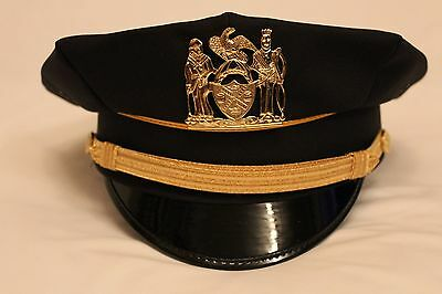 Obsolete Nypd Mounted Police Cap / Hat