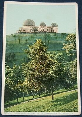 Allegheny Observatory, Riverview Park, Pittsburg, PA Postcard