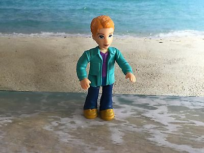 Fisher Price Sweet Streets Figure Replacement Go Anywhere Htf Man Dad Brother