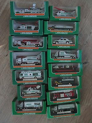 Toy Hess Trucks Rare  Mini Truck Collection Toys 1998 - 2012