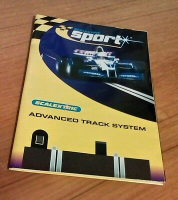 ***scalextric Sport Advanced Track System Leaflet / Poster Track Layouts***