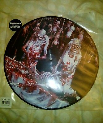 Cannibal Corpse Butchered At Birth Picture Disk LP Vinyl Record Ltd Edtn Disc