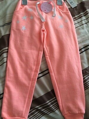 Baby Girl / Toddler Peach Jogging Bottoms Size 3-4 Years