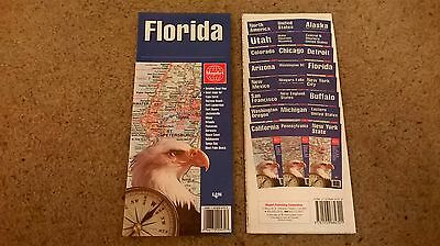 NEW road map of Florida, MapArt - city maps Inc. Miami, Orlando Disneyworld etc