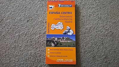 NEW Michelin (Madrid) Central Spain road map 576