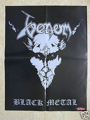Poster Venom  Black Metal  Slipknot    Pin Up   A2