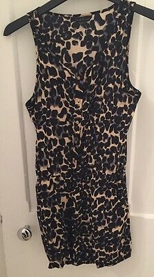 Girls New Candy Couture Animal Print Playsuit Age 12-13