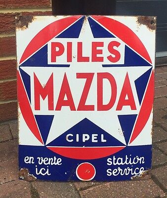 Vintage Mazda Advertising Sign. Open To Offers.
