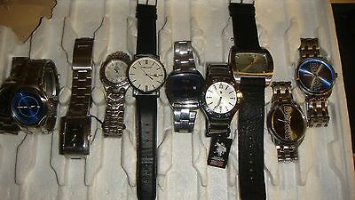 Trade Only Job Lot Of 10 X  Mixed  Watches 100% Gen.. ///