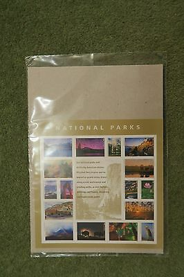 USA 2016 STAMPS National Parks sheet of 16 unopened