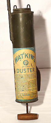 VTG WWII-Era WATKINS DUSTER - DECORATIVE - Insect Sprayer - antique garden tool