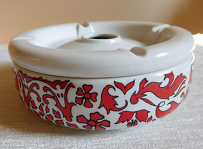 Collectable 1970's Porcelain China Ashtray, stamped Limoges, perfect condition