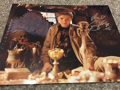 The Goonies Corey Feldman Mouth Hand Signed 10x8 Photo - PROOF Autographed