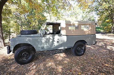 1984 Land Rover Other  1984 Land Rover Series III LHD