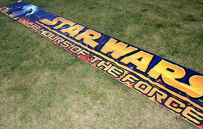 Star Wars 48 Hours Of The Force HUGE BANNER 40 Foot Long - Revenge Of The Sith