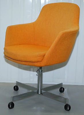 Original 1960's Mid Century Modern Ryman Conran Manufacturing Office Chair