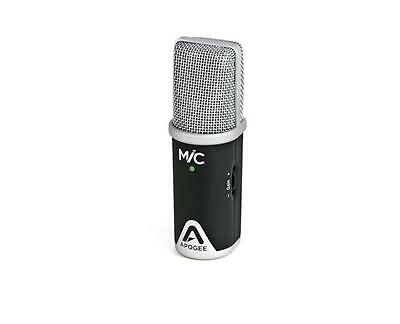 Apogee Mic 96K Interface for IOS Macs w/Lightning Cable & Mic Stand Adapter