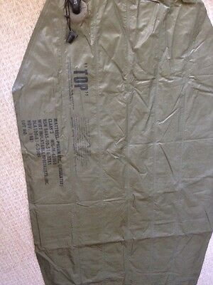 Us Army Inflatable Mattress (insulated) Used For Water Use.