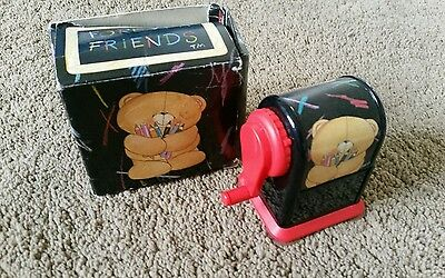 Forever Friends vintage style pencil sharper preowned free post D31