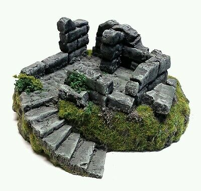 Wargames Terrain 28mm Scale Resin Ruined Lookout (1) Frostgrave, Age of Sigmar