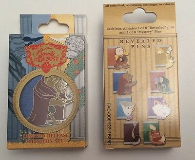 Disney Beauty & the Beast 25th Annv Limited Release Pins - BEAST + Mystery