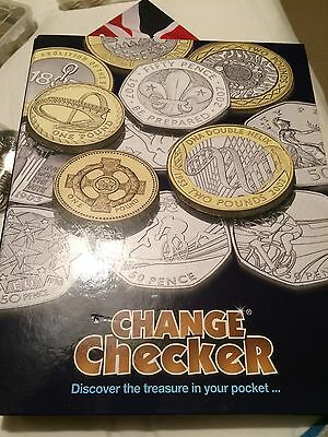 Westminster Change Checker Coin Collection Binder With 6 Pocket Pages