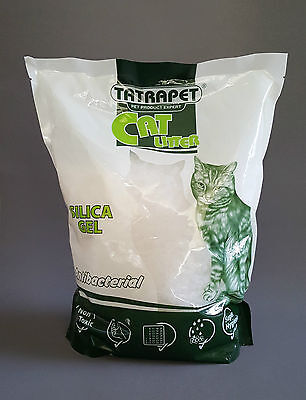 Litter Silica Gel Cat 3.8L 1.5kg Antibacterial Kitten Sand Toilet