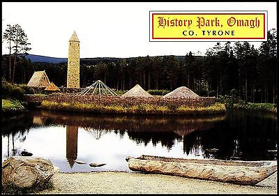 Newcard History Park Omagh Co Tyrone By J Hinde 2Ni 278 Unposted