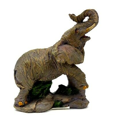 "Small Elephant Collectible Statue 2.75"" Tall Lucky Elephant Figurine 4"