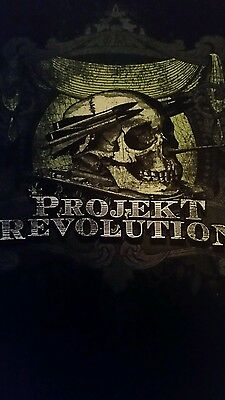Projekt Revolution Concert T Shirt Linkin Park Medium 38-40