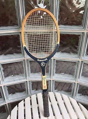 Old  Bancroft Tennis Racquet - Vintage Timber - The Federation Cup
