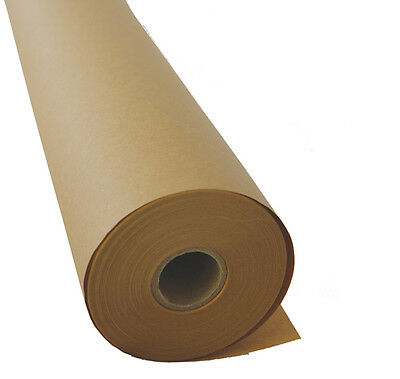 Brown Kraft Paper, Wrapping paper,counter roll, gift wrap, 600mm x 50m