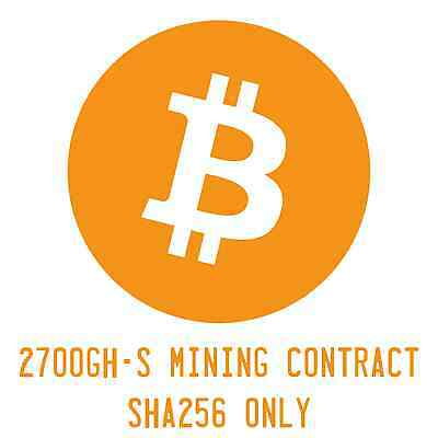 Mining Contract Antminer S7 2,7 TH/s SHA256 12 ore Bitcoin, Devcoin, Peercoin...