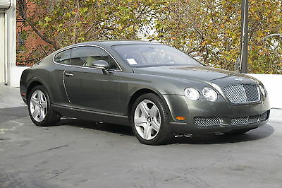 2005 Bentley Continental GT Coupe in Cypress with 39,650 miles 2005 BENTLEY CONTINENTAL GT COUPE IN CYPRESS WITH SAVANNAH