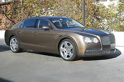 2014 Bentley Flying Spur in Dark Cashmere with 26,182 miles 2014 BENTLEY FLYING SPUR SEDAN IN DARK CASHMERE WITH PORTLAND LOW MILES