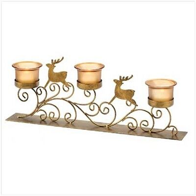 Reindeer Candle Holder #13395 - CLEARANCE