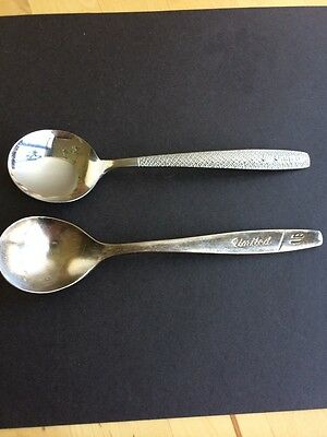 Vintage United Airlines Spoons Collectible
