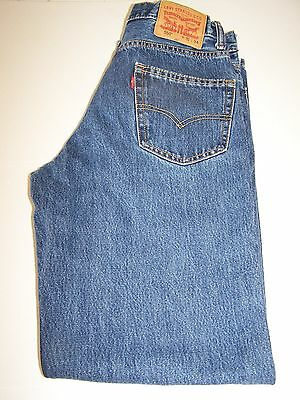 Levi's 550  Relaxed Fit  Mens Jeans   Size - 31Wx34L #2
