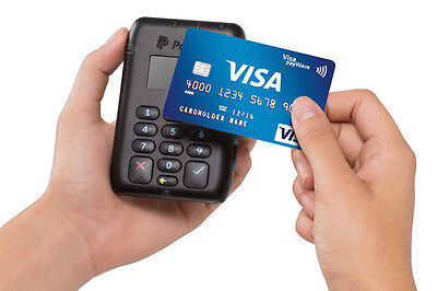 PayPal HERE Chip & Pin Reader - EMV Contactless - Swipe - Bluetooth Card Reader