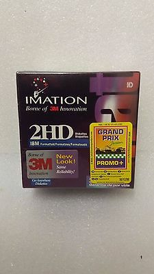 2HD IBM formatted Floppy Disk 10 x Imation 3m innovation 1.44MB new sealed 3.5