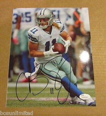 Cole Beasley signed 8x10 Photo JSA Authenticated #2