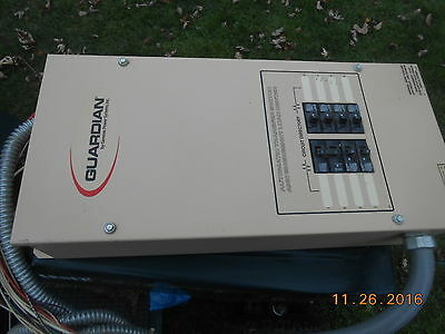 Guardian Generac Power System  LOAD CENTER ,8 CIRCUIT 0F9082