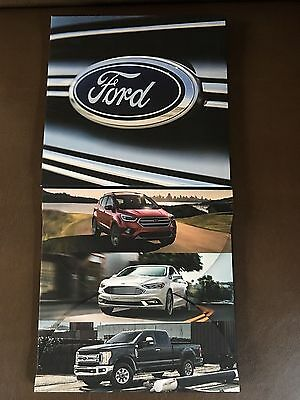 2017 Ford Full-Line Trucks Cars SUV's 36-page Original Sales Brochure