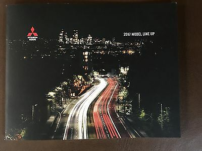 2017 Mitsubishi Full-Line 22-page Small Original Sales Brochure