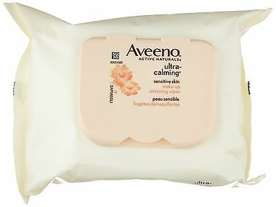 Aveeno Ultra-Calming Makeup Removing Wipes 25 Count
