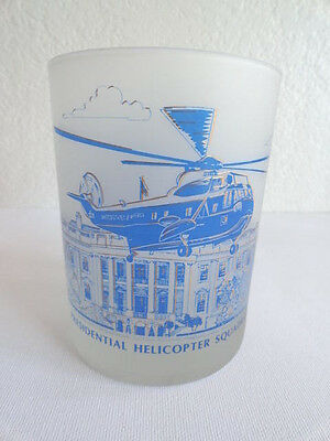 Presidential Ronald Reagan Squadron 1 Helicopter Frosted Glass