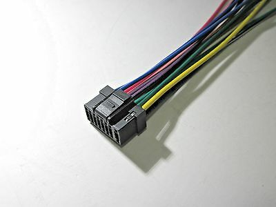 Alpine Cde 164Bt Wire Wring Harness New S new wire harness for alpine cde 153bt cde 154bt \u2022 $10 62 picclick alpine cde-hd137bt wiring harness at creativeand.co