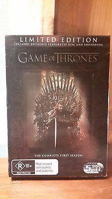 Game Of Thrones - Complete Season 1 LIMITED EDITION DVD (Region 4)