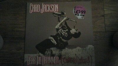 """Chad Jackson -Hear the Drummer (Get Wicked) 10"""" record (1990)"""