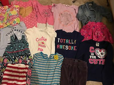 GIRLS 13 Pc Gymboree Jumping Beans  Old Navy Lot 4 5 & 6 Tops Pants